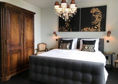 Ster met luxe bed